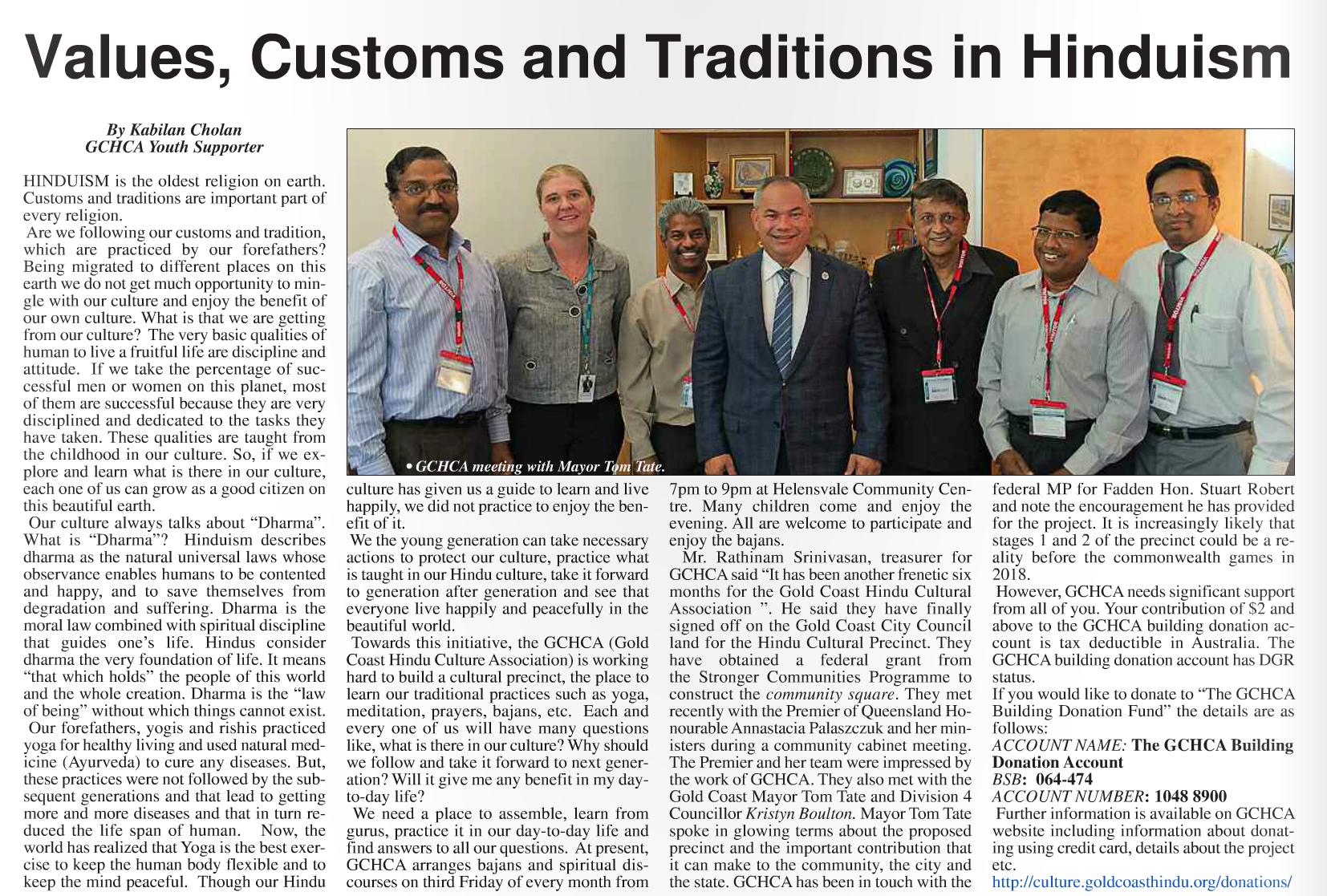Brisbane Indian Times - June 2016