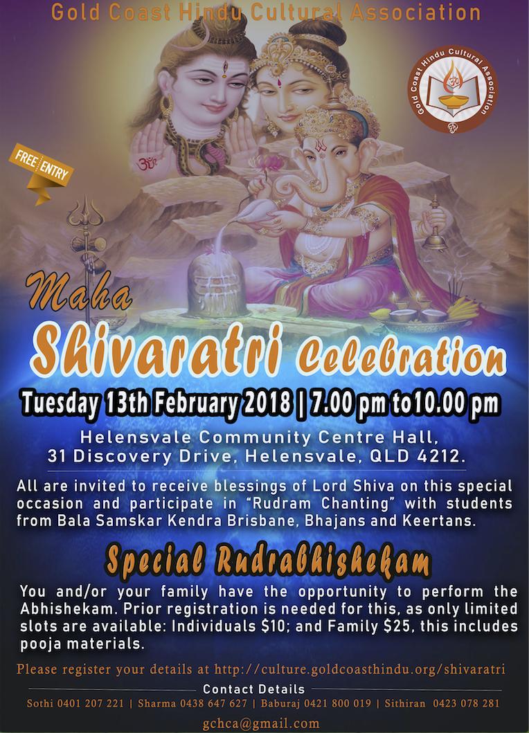 Shivaratri 2018