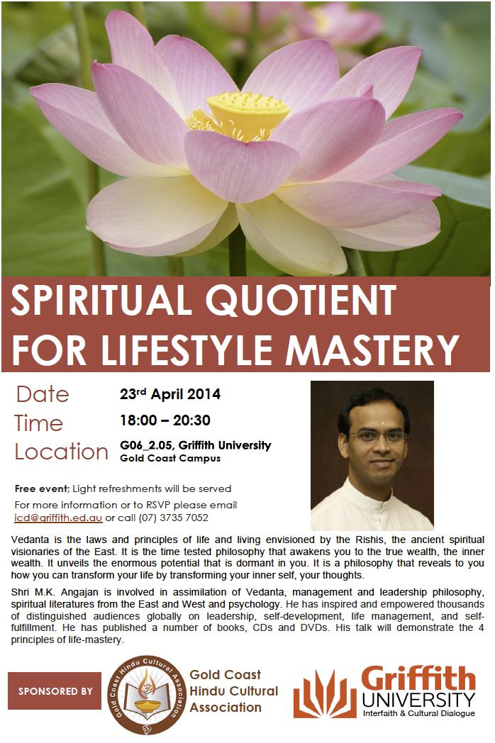 GriffithUni-GCHCA-Seminar23April2014-ShriM.K.Angajan