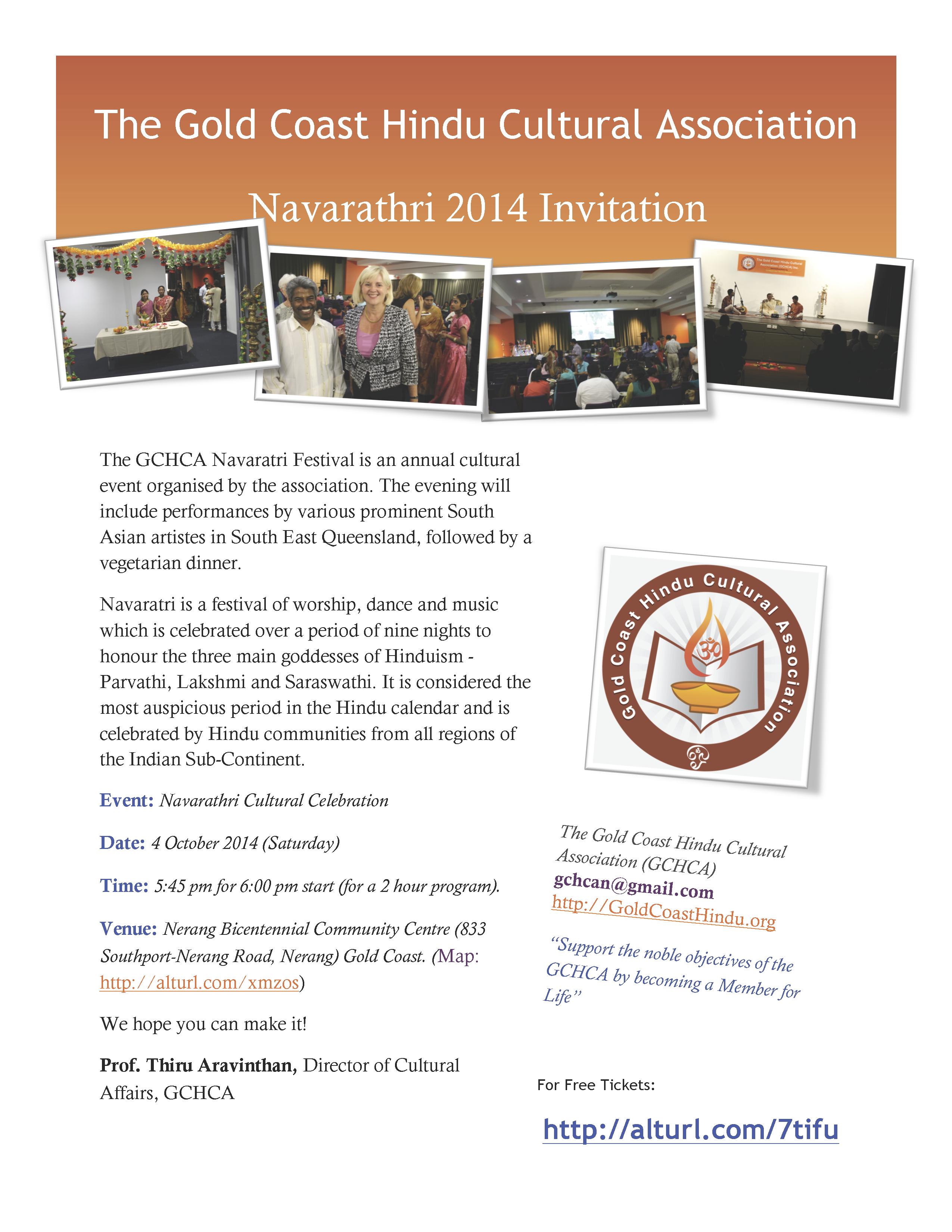 Navaratri 2014 Invitation!